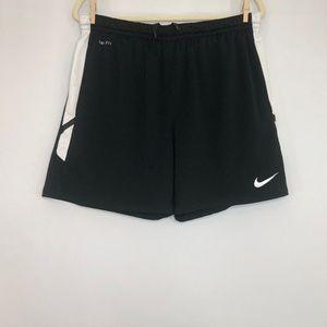 Nike Dri-Fit Black & White Short Men's Size Large